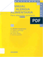 Manual de Alergia Alimentaria
