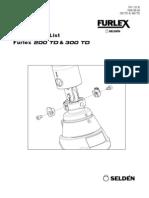 Instrucciones FURLEX-200TD-Y-300TD-06-AGOSTO-2008-595-232-E