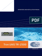 JOTRON TRON UAIS TR-2500_Operation -Installation Manual