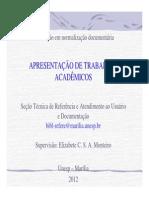 ABNT Marília-UNESP.