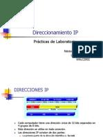 Direccionam IP