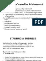 Entrepreneurship - Starting a Business - Copy