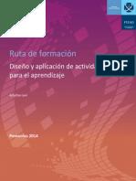 E. Diseño de actividades de aprendizaje