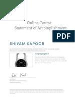 Coursera Crypto 2013 (1)