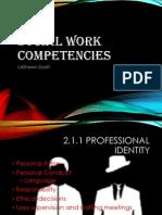 social work competency