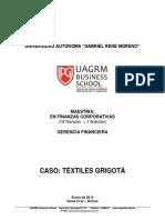 CASO TEXTILES GRIGOTÁ