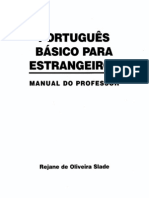 Portugues Basico Para Estrangeiros - Manual Do Professor