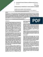 Properties of Annona Muricata