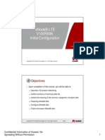 Microsoft PowerPoint - 03 OEB304700 eNodeB LTE V100R006 Initial Configuration ISSUE 1