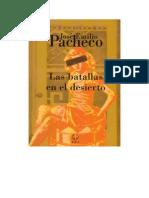 Pacheco - Las Batallas en El Desierto