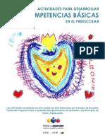 CARTILLA ACTIVIDADES PARA DESARROLLAR COMPETENCIAS BÁSICAS EN EL PREESCOLAR 1