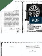 Kuhn La Estructura de Las Revoluciones Cientificas