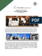 PASPAC eNewsletter February 2014