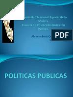 Politicas Publicas Diapositivas