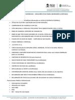 Lista Documentacoes Admissao Hrc