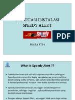 Panduan Speedy Alert