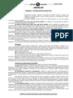 Bolilla 14 - Unidad y Pluralidad de Delitos