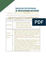 Informe Concilio Icr 2014