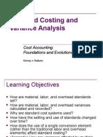 variance analysis  standard costing 2