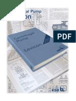 KSB Centrifugal Pump Lexicon