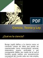Ciencia, Teoría y Ley