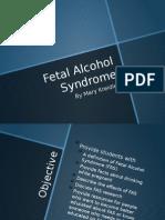 Fetal Alcohol SyndromePP