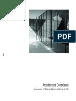 Arquitectura Consciente - Mies Van Der Rohe