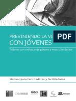 2011 Manual Previniendo la Violencia con Jóvenes EME CulturaSalud SENAME