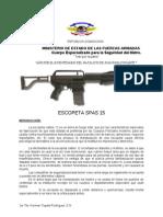 Folleto de Escopeta SPAS 15