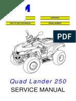 ATV 250 manual