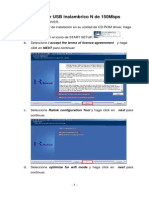 Instalador Wifi K-1501UN Manual Espanol