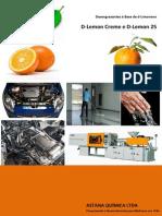 Catálogo Desengraxante à Base de d-Limoneno - Astana Química 15-02-14
