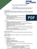 Accounts, Taxation & Sap Fico Syllabus