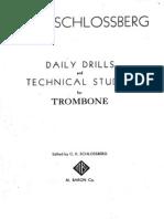 Schlossberg Daily Drills for Trombone