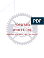 Forward - Labor Party Feb. 2014 Manifesto