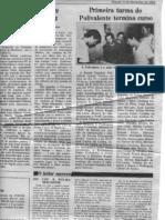 1ª turma formada na Poilvalente-1982