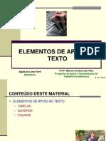 ABNT - Elementos_apoio_texto_Tabelas, Quadros e Figuras