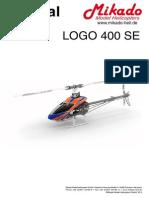 Mikado Logo 400SE Manual