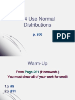 7.4 Use Normal Distributions (1)