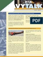 Issue 20 HTA HeavyTalk Newsletter May 2010
