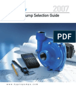 Hydraulic Pump Selection Guide