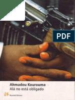 Alá no está obligado - Ahmadou Kourouma