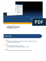 Diapason ERP software for doors and windows manufacturers