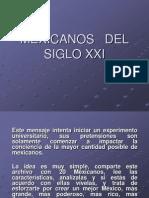 MEXICANOSDELSIGLOXXI_1.pps