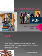 educatia profesionala ppt