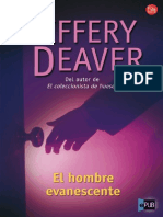 Jeffery Deaver [Lincoln Rhyme05 El Hombre Evanesce
