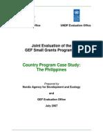 Philippines SGP Case Study