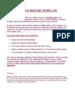 sampledetailedresume