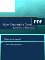 Major Depressive Disorder Symptoms and Prevalence for IB Abnormal Psychology