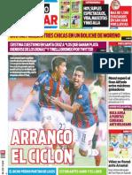 Tapa Diario Popular 16-01-2014